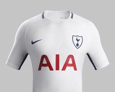 Camisas do Tottenham 2017-2018 Nike