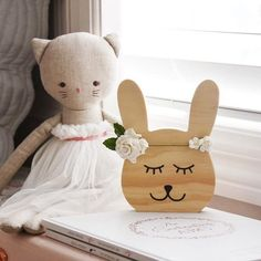Willow Bunnie - wooden decor from Faith Laine Signature Wooden Decor collection Happy Sunday Everyone, Wooden Decor, Business For Kids, Clean House, Decorative Accessories, Teddy Bear, Faith, Wellness, Organization