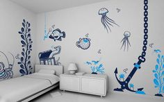 Art Wall Decals, A Fun And Easy Way To Be Creative In A Kid's Room