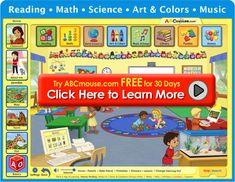Give your child a head start with ABCmouse.com's full online preschool, pre-k, and kindergarten curriculum--games, books, songs, and more!