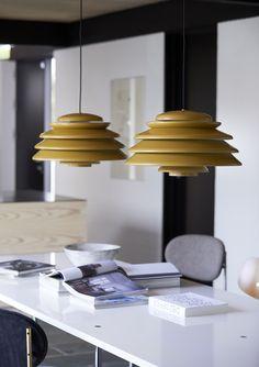 Hive pendants from Verpan