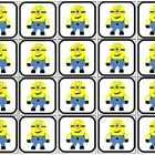 20 2x2 minion(one eye) picture squares 20 2x2 minion(two eyes) picture squares Use with a token system Use with a behavior plan Use for counting or...