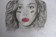 New drawing of BEYONCE