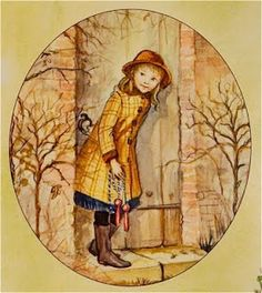 Mary Lenox before she finds The Secret Garden...
