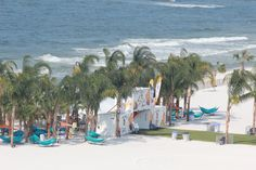 Now that's a beach front concert setting! The beautiful backdrop for the Hangout Music Festival in Gulf Shores.