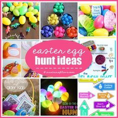 These ideas are perfect for kids and adults! Here are some fun twists and unique Easter Egg Hunt Ideas!