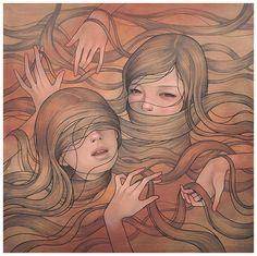 Paintings by Audrey Kawasaki | 123 Inspiration