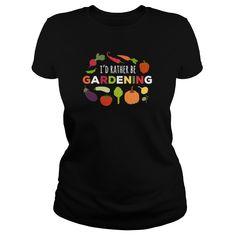 Id rather be Gardening T-shirt T-Shirts - Mens Premium T-Shirt