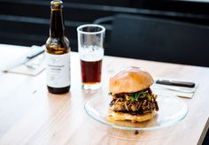 Pig's head buns, hot meat doughnuts, prime cuts with salted caramel. Dexter is in a league of its own. Good Burger, Cool Bars, Dexter, Preston, Hamburger, Melbourne, Bbq, Food And Drink, American