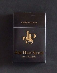 Packaging by John Player Special Source by