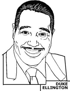 black history month coloring pages black history coloring pages duke ellington colin powell