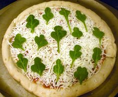 St Patricks Day Pizza