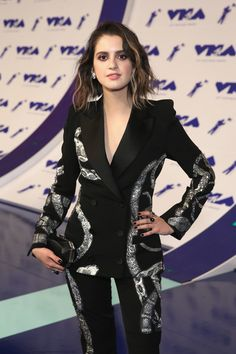 Laura Marano Photos Photos - Laura Marano is seen attending the 2017 MTV Video Music Awards at The Forum in Los Angeles, California. 2017 MTV Video Music Awards - Arrivals