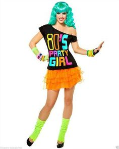 Create this 80s Party Girl Costume for Women at 80sFashion.info