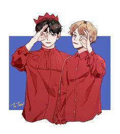 V and Jungkook reenacting Peek-a-boo of Red Velvet, best genderbend ever