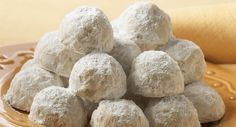 Pecan Cookie Balls : These buttery melt-in-your mouth cookies are also known as Mexican Wedding Cakes. They make a great holiday gift or cookie exchange addition.