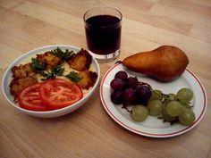 egészséges ebéd