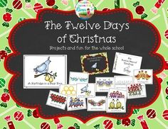 Fun for the whole school! This is a great nonreligious Christmas activity!