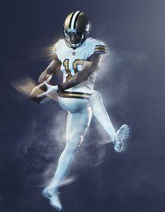 48e75c698 NFL Nike Color Rush 2016 Jersey - New Orleans Saints Nfl Color Rush Uniforms