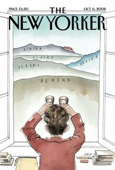 The New Yorker can see Russia from my house too!
