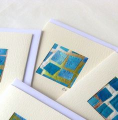 quilted fabric cards