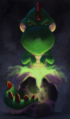 Yoshi il fait peur !