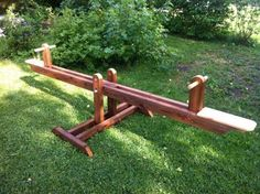 Seesaw | Do It Yourself Home Projects from Ana White