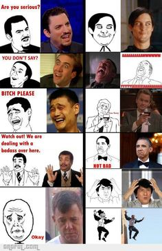 Troll faces and their origins