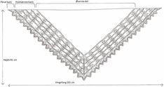 Skotsk sjal | Strikkeglad.dk Knitted Shawls, Diamond, Scarves, Jewelry, Knit Shawls, Scarfs, Jewlery, Jewerly, Knit Scarves
