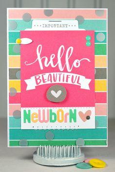 Hello Beautiful Newborn *Elle's Studio Cienna* by Lisa S.