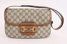 3506f4360a12e1 Vintage Gucci GG Supreme Handbag at Rice and Beans Vintage Vintage Gucci,  Shoulder Strap Bag