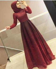 Hijab styles 653092383437036493 - Source by sevdiyeatilkan Muslim Prom Dress, Hijab Prom Dress, Hijab Evening Dress, Hijab Style Dress, Hijab Chic, Abaya Fashion, Muslim Fashion, Modest Fashion, Fashion Dresses