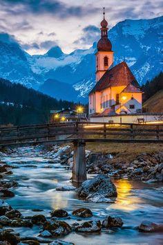 Ramsau in the Bavarian Alps German