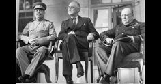"""A Soviet Spy Who saved The """"Big Three"""" at the Tehran Conference was 19 years old at the time"""