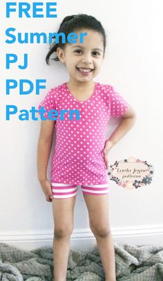 When the beginning of June rolled around, New Jersey officially felt like summer! I suddenly found that my girls needed some summer pajamas so I decided to make the pattern available to my lovely readers! The pattern is for sizes 2T and 4T and includes shorts and shirt pieces for both sizes. The 2T is sized …