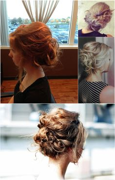 simple and trend messy updo with cheap and best extension clip on