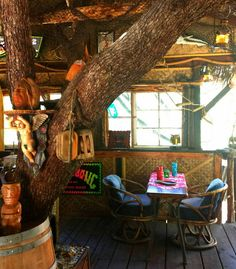Check out this awesome listing on Airbnb: Cozy Lodge & TIKI Treehouse ! - Cabins for Rent in Idyllwild-Pine Cove