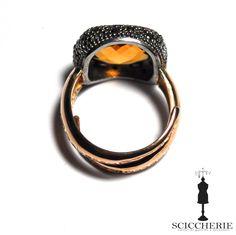 Anello Rebecca Gioielli collezione Manhattan con pietra naturale. #rings #rebeccajewelry