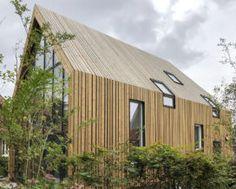Houten Woning Ideeen : Keuken houten schiereiland modern voorbeelden van een keuken met