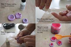 DIY Resin Flowers & Scrapbook Embellishments
