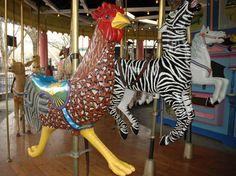 Terrace at Lagoon amusement park utah   Lagoon Merry-Go-Round, Herschell-Spillman Menagerie Carousel Korral ...