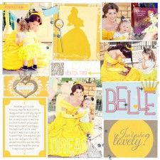 #papercraft #Disney #scrapbooking #layouts via MouseScrappers
