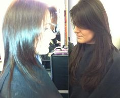 HAIR BY TERRY DUNN MOTHERWELL 01698 321068  UK SCOTLAND  BEFORE AND AFTER S ...  1 DAYS WORK