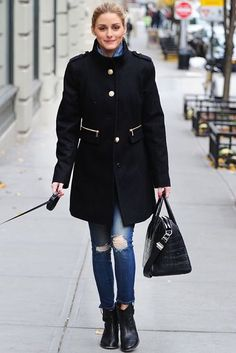 Yes...we all wish we looked this good walking the dog