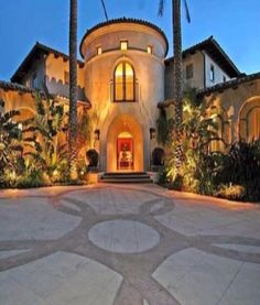 #Luxury Spanish Style Home in Florida #LuxurydotCom