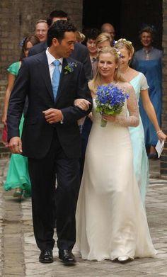 Lady Davina Windsor and Gary Lewis, July 31, 2004