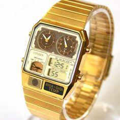 gold Citizen Watches 2016