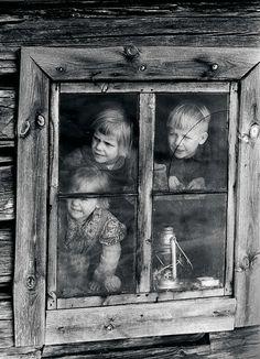 Savupirtti Joutsassa 1960.
