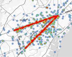 La Diada 2014 concentra los tuits de Barcelona en la Meridiana   Ciencia   EL PAÍS