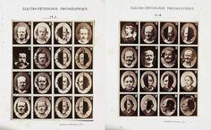 Oscar Rejlander (fotógrafo). Trabajo encargado por Charles Darwin  The expression of Emotion in Man and Animals. 1872